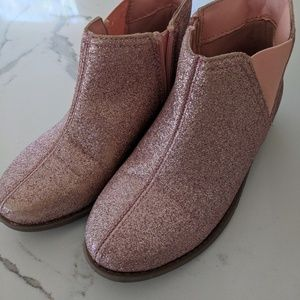 Barely Used Carter's Pink Glitter Booties